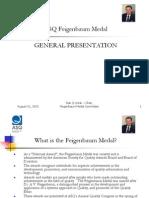ASQ Feigenbaum Medal