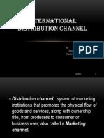 international distribution channel