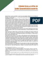 cenni sulla vita di Shri Shankaracharya