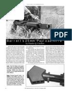 Barrett 25mm Payload Rifle