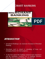 Merchant Banking An overview