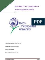 Personal Effectiveness & Development