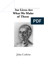 John Corlette's Speech and Meditations in 48 pages with photos