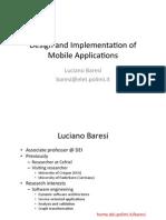 Design for mobile Applications