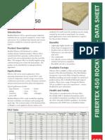 Fibre Tex 450 Rockwool Data sheet