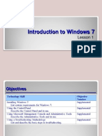 Win 7 - 70-685 Chapter 1 Powerpoint