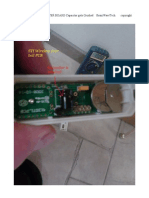 STI WIRELESS TRANSMITTER BOARD Capacitor gets Crushed