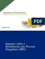 deloitte [e associados] 2012_orçamento do estado 2013, medidas que fazem diferença [dezembro]
