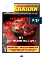 Genocide of the Rohingya of Myanmar in 2012 By Dr. Habib Siddqui