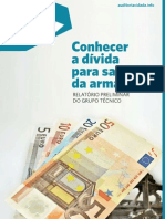inciativa para uma auditoria cidadã à dívida 2013_conhecer a dívida para sair da armadilha, relatório preliminar [janeiro]