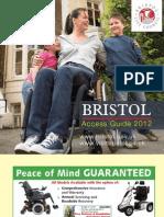 Accessible Bristol Guide 2012