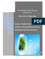 sustainable urban design of kajang
