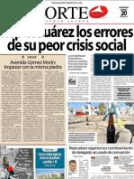 Periodico Norte de Ciudad Juárez 20 de Enero de 2013