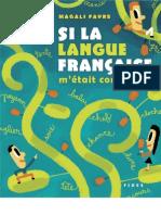 68084613 Si La Langue Francaise M Etait Contee