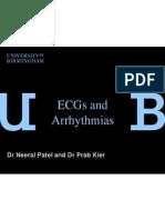 ecgs and arrythmias np and pk