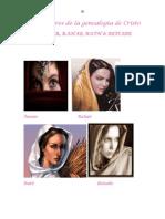 Las mujeres de la genealogía de Cristo