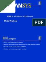 ANSYS Modal Analysis-1