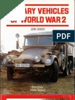 military vehicles of ww 2