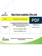 Recruitment Event - Big Foot(300113)