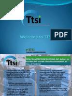 TTSI Online Training Programs