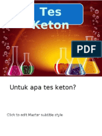Test Urin Keton