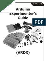 Arduino Experimenters Guide