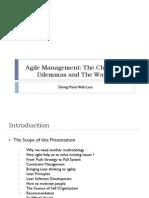 Agile Management Slides
