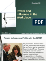 Power influence in the workplace