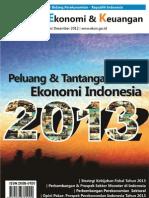 Tinjauan Ekonomi dan Keuangan Edisi Desember 2012