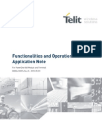 Telit Functionalities and Operation Modes Application Note r0
