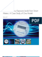 Radio-Frequency Exposure Levels from SmartMeters
