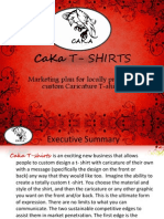 CAKA T - SHIRTS - New Business Plan