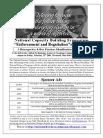 National Capacity Building Symposium II Sponsor Ads Page 3