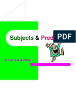 subject and predicate compound