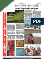 Mongol Messenger, July 2012
