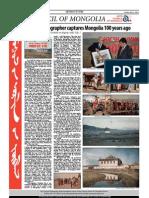 Mongol Messenger, May, 2012