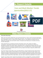 Indian Fabric Care and Wash Market