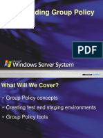 Understanding Group Policy