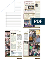 Gathering Bulletin February 15, 2009