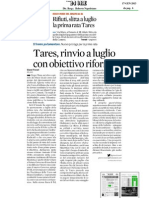 Senatore Antonio d'Alì riforma tassa sui rifiuti