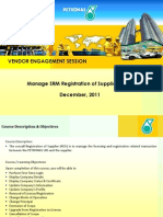 SRM-Vendor_Management_Briefing_Petronas ROS v1 0(FINAL-19 DEC 2011)