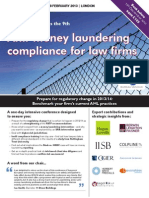 Anti-money laundering compliance for law firms