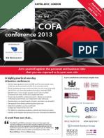 COLP & COFA conference 2013