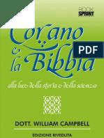 Il Corano e la Bibbia