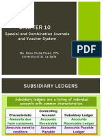 Ch 10 - Special and Combo Journals and Voucher Sys