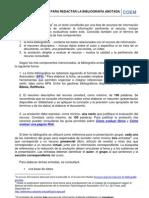 COEM 3001 Instrucciones para elaborar la bibliografía anotada
