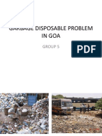 GARBAGE DISPOSABLE PROBLEM IN GOA