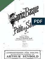 Caprice Basque - Sarasate