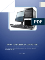 steps on how to build a computer