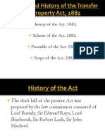 History,Scope and Preamble of the T P Act